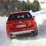 Der VW Passat Alltrak im Test bei Schnee