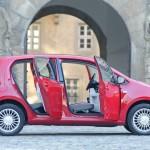 Der VW Up! als Fünftürer in der Seitenansicht