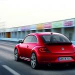 Die Heckpartie des neuen VW Beetle