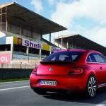 Der VW Beetle in der Heckansicht