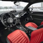 Der Innenraum des Volkswagen Beetle