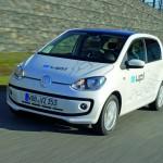 Volkswagen E-Up mit Elektroantrieb