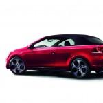 Das VW Golf GTI Cabriolet geschlossen