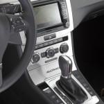 Die Mittelkonsole des Volkswagen Passat Alltrak