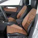 Der Innenraum des neuen Volkswagen Passat Alltrak