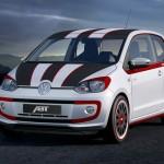 Die Abt-Version des Volkswagen Up in der Frontansicht