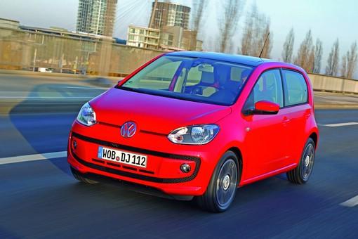 Volkswagen Up mit mit Blue Motion