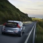 Die Heckpartie des Volvo V40 2012
