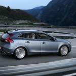 Der neue Volvo V40 in der Seitenansicht