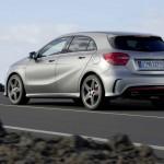Das neue AMG-Modell Mercedes-Benz A-Klasse Sport (Fahraufnahme)