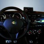Das Cockpit des Alfa Romeo Giulietta TCT