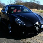 Die Frontpartie des Alfa Romeo Giulietta TCT