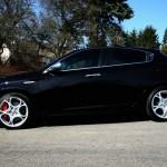 Der Alfa Romeo Giulietta TCT in der Seitenansicht