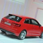 Die Heckpartie des neuen Audi A3