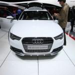 Die Frontpartie des neuen Audi A6 Allroad