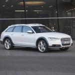 Audi A6 Allroad Quattro 2012 in der Seitenansicht