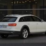 Die Heckpartie des neuen Audi A6 Allroad Quattro