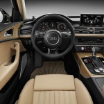 Der Innenraum des Audi A6 Allroad Quattro