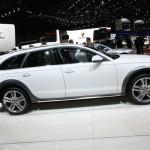 Audi A6 Allroad in der Seitenansicht (Weiss)