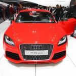 Die Frontpartie des Audi TT RS Plus - Genf 2012