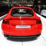 Das Heck des schnellen Audi TT RS Plus