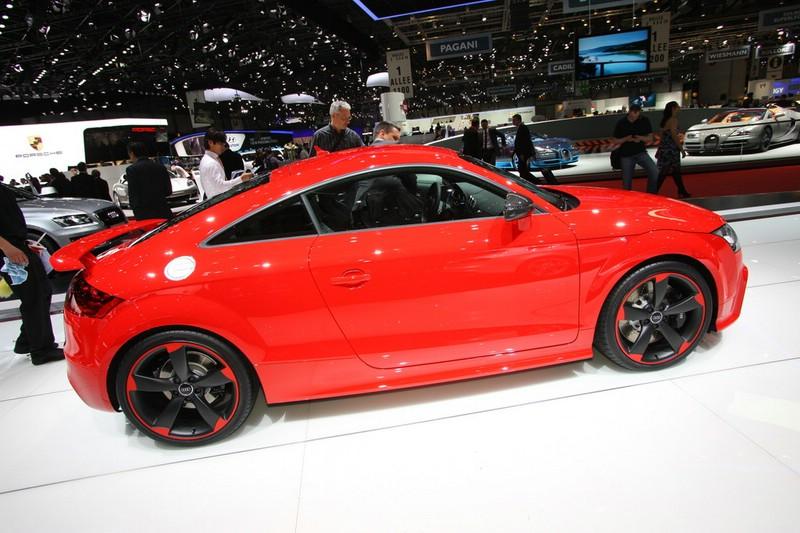 Audi präsentiert den TT RS Plus auf der Genfer Automesse 2012