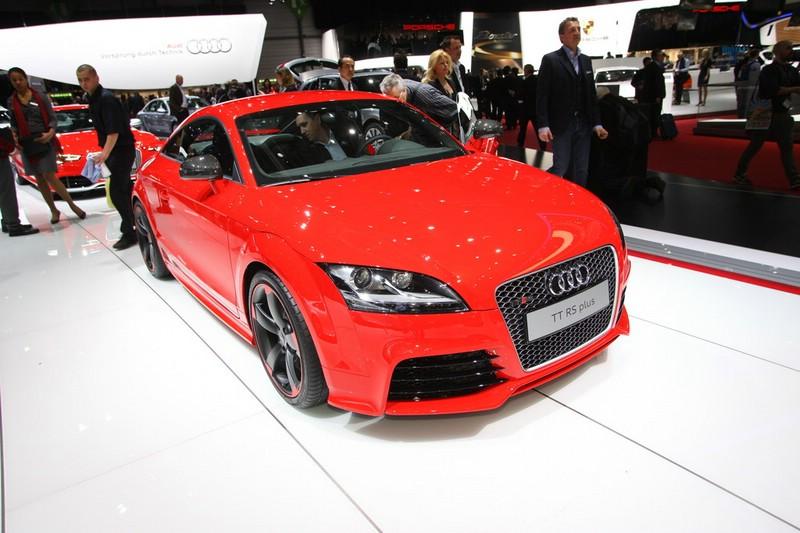 Audi TT RS Plus mit 360 PS