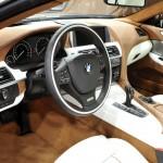 Das Interieur des BMW 6er Gran Coupe