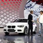BMW Concept M135i bei der Präsentation auf dem Genfer Autosalon 2012