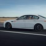 Der BMW M5 F10 von G-Power in der Seitenansicht in weiss