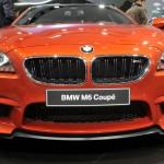 Das BMW M6 Coupe in der Frontansicht - Genf Auto-Salon 2012
