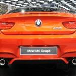 Das Hinterteil des BMW M6 Coupe in Genf