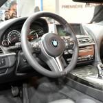 Der Innenraum des neuen BMW M6 Coupe