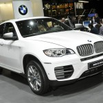 BMW X6 in Genf 2012 in Weiss