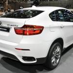 BMW X6 M50d auf dem Genfer Automobilsalon 2012