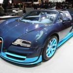 Bugatti Veyron 16.4 Grand Sport Vitesse auf der Genfer Automesse