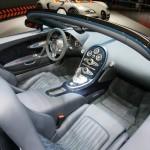 Das Interieur des Bugatti Veyron 16.4 Grand Sport Vitesse