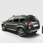 Das Duster Sondermodell Delsey von Dacia in der Heckansicht