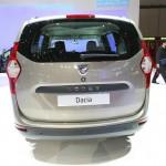 Das Heck des Dacia Lodgy - Genfer Salon 2012
