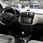 Der Innenraum des neuen Dacia Lodgy