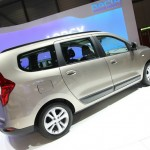 Der neue Dacia Lodgy in der Seitenansicht