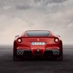 Die Heckpartie des Ferrari F12 Berlinetta