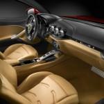 Das Interieur des Ferrari F12 Berlinetta