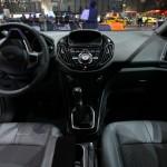 Das Interieur des Ford B-Max