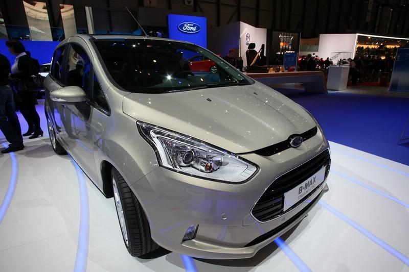 Neuer Ford B-Max auf der Automesse in Genf