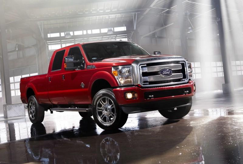 Ford stellt neue F-Serie Platinum vor