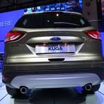 Die Heckansicht des Ford Kuga der 2. Generation