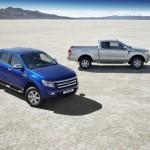 Ford Ranger als Einzel und Doppelkabine