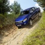 Der Ford Ranger zeigt sich sehr Geländetauglisch