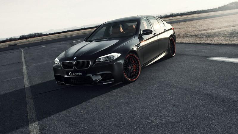 BMW M5 F10 von G-Power in Schwarz Lackierung